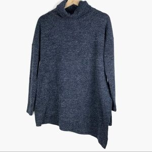RACHEL ROY sweater S asymmetrical oversized o610